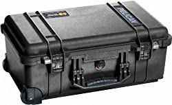Pelican 1510 Carry-On Case with Pick N Pluck Foam (Black)