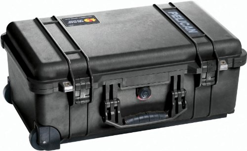 Pelican 1510-000-110 Carry On Case with Pick 'N' Puck Foam (Black)