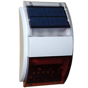 Sunforce 86319 Solar Flashing Alarm System