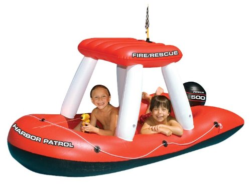 Swimline Fireboat Squirter Inflatable Pool Toy front-461617