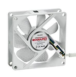 Zaward Golf II Fan 80mm PWM ZG2-080A - white