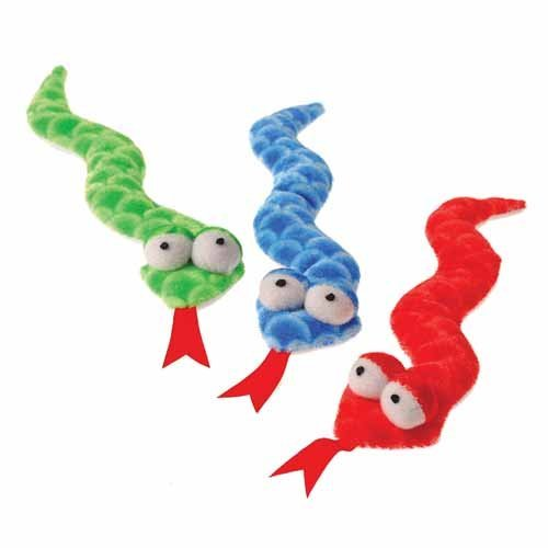 Plush Slithering Scaly Snakes
