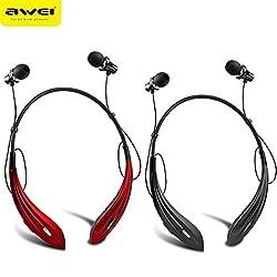 Original Awei A810BL Stereo Wireless Bluetooth Headset Sports Headphone Neckband