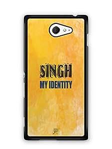 YuBingo Singh My Identity Mobile Case Back Cover for Sony Xperia M2