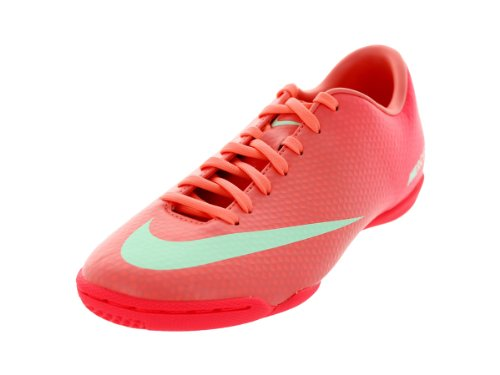 Nike Womens Mercurial Victory IV IC Atomic Pink/Arctic Green