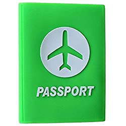 Silicon Passport Covers (Green)