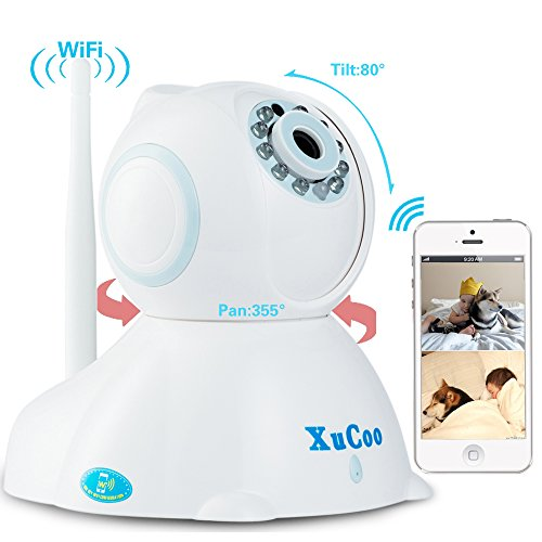 Lowest Prices! XUCOO HD Wifi Network Camera Video Baby Monitor Surveillance Home Security Camera Sys...