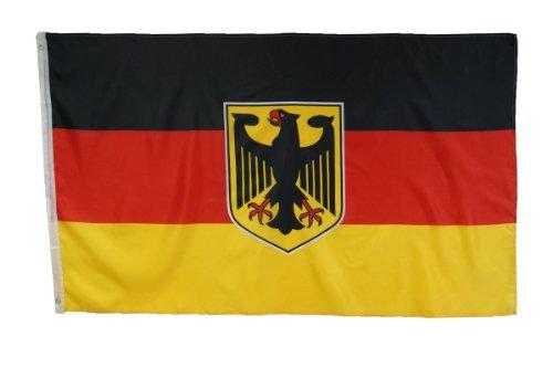 MM Flagge/Fahne, mit weißen Ösen, 90 x 150 cm, 16122