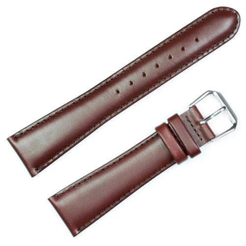 COACH Watches:Coach Leather Watchband Brown 10mm - by deBeer Images