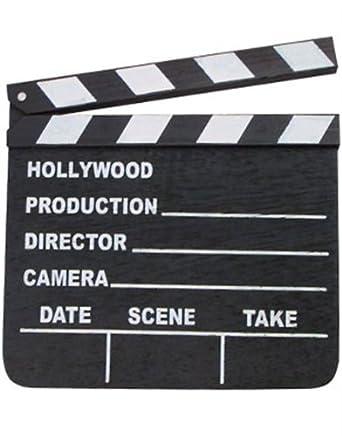 Amazon.com: Hollywood Movie Studio Director Clapper Clap ...