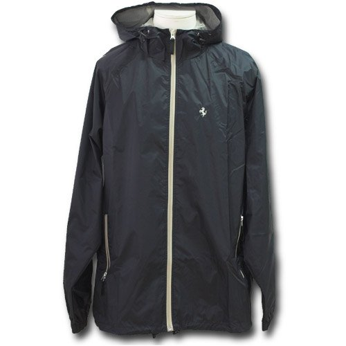 Ferrari men's bicolor Rainjacket black M