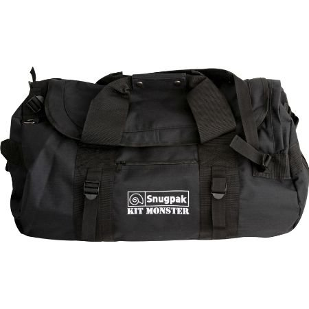 Snugpak ResponsePak Travel Bag, Black (Out The Front Knife Double Edge compare prices)