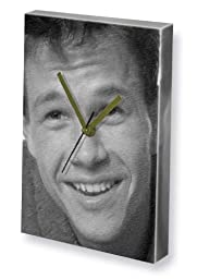 MARK WAHLBERG - Canvas Clock (A5 - Signed by the Artist) #js001