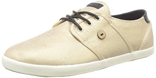 FaguoCypress - Sneaker Donna, Beige (S1680 Peach Shine), 36