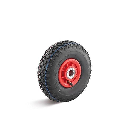 roue-a-air-400mm-plastique-jante-motif-de-lug-roulement-a-bille-oe-25m-charge-utile-250kg