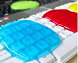 キーボード・エアコンなどの細かい埃取りに 繰り返し使える 掃除 パソコン PC スーパークリーン ゲル 3個セット クリーンスライム