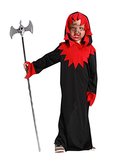 Ace Halloween Children's Kids Hell Devil Dead Vampire Hoodie Costumes