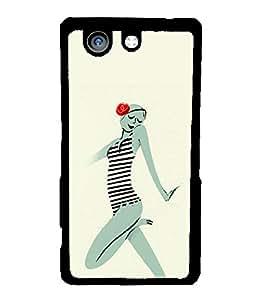 Printvisa 2D Printed Girly Designer back case cover for Sony Xperia Z4 Mini - D4546
