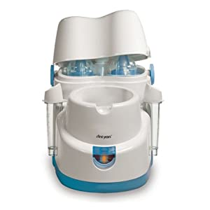 The First Years Night Cravings Bottle Warmer & Cooler, Blue/White from The First Years