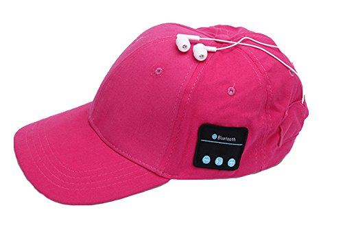 music-cap-smart-wireless-bluetooth-sun-hat-intelligent-speaker-headphones-baseball-cap-red