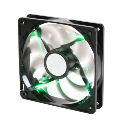 Cooler Master SickleFlow 120 - Sleeve Bearing 120mm Green LED Silent Fan for Computer Cases, CPU Coolers, and Radiators (Pc Radiator 120mm compare prices)