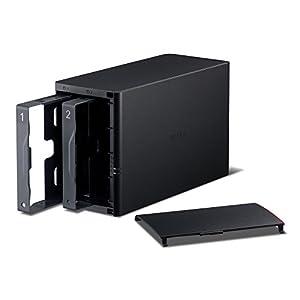 Buffalo LinkStation 220 0 TB 2-Bay NAS for Home (LS220DE)