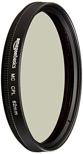 AmazonBasics Filtre polarisant circulaire - 62mm