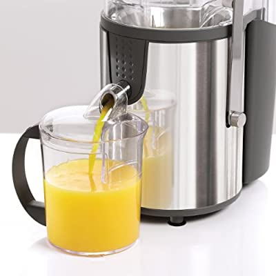 BELLA 13694 High Power Juice Extractor, Stainless Steel from D&H Distributing - Sensio Products