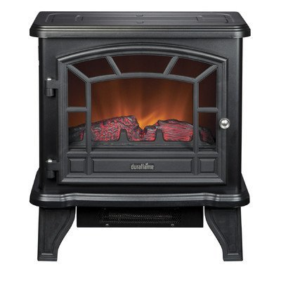 Duraflame DFS-550-21-BLK Maxwell Electric Stove with Heater, Ebon