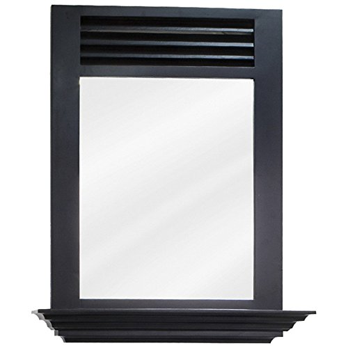 Elements Lindley Painted Espresso Mirror