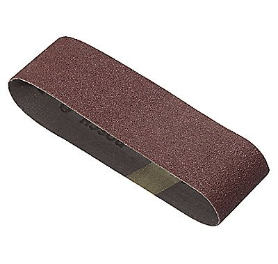 Bosch SB3R000 3 x 18-Inch Sanding Belt, Red, 60/80/100 Assorted Grits, 3 Pack