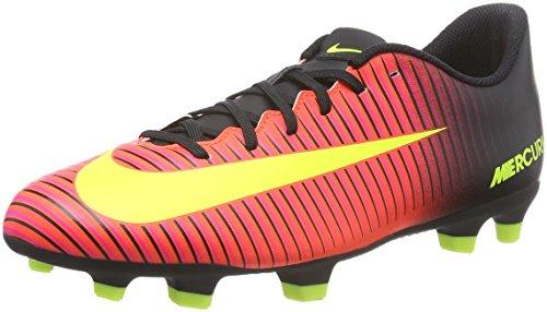 Nike Mercurial Vortex Iii FG, Scarpe da Calcio Uomo, Rosso (Total Crimson/Volt-Black-Pink Blast), 40 EU