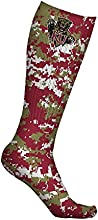 Kutztown University Golden Bears Socks Digicamo Design pair