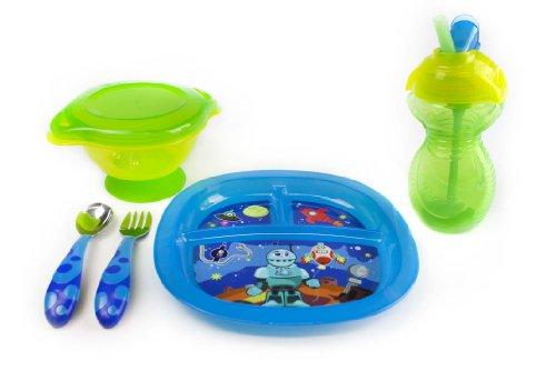 Munchkin Toddler Feeding Set Boy front-636272