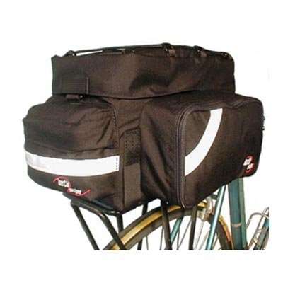 Inertia Rack Trunk Pannier Bicycle Bag - Black - 9100
