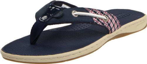 Sperry Top-Sider Women's Seafish Sandal - 9M Navy