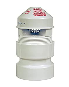 Oatey 39019 Sure-Vent Air Admittance Valve with 1-1/2-Inch by 2-Inch ABS Adapter Bulk Pack, 1-1/2-Inch