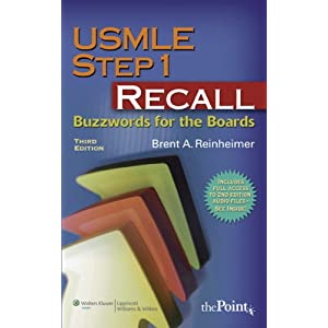 Boards the step for recall 1 usmle buzzwords PDF