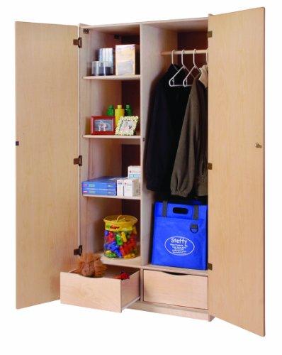 SteffyWoodProducts Inc Teachers Locking Storage Cabinet