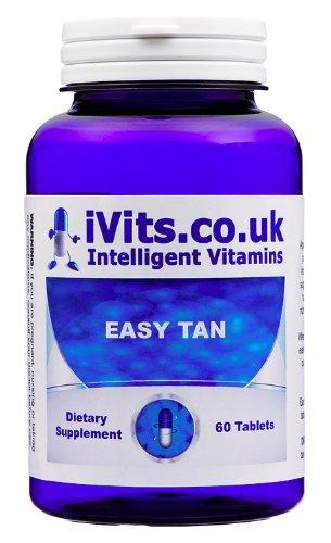 iVits Intelligent Vitamins, Easy Tan, 60 Tablets