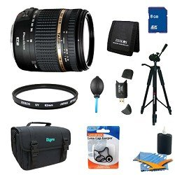 Tamron 18-270mm f/3.5-6.3 Di II VC PZD IF Lens Pro Kit for Nikon AF w/Built in Motor
