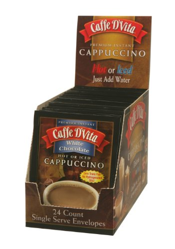 Caffe D'Vita White Chocolate Cappuccino, 0.5-Ounce