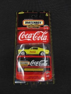 Matchbox Collectibles - Coca-Cola 1968 Mustang Cobra Jet 1:64 Scale - 1