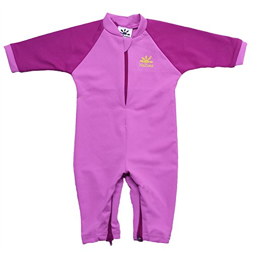 Fiji Sun Protective UPF 50+ Baby Swimsuit by Nozone in Bahama/Fuschia, 18-24 months (Toddler Sun Protection Swimwear compare prices)