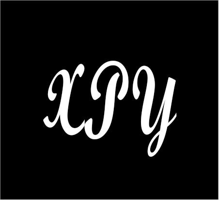 3-white-monogram-3-letters-xpy-initials-bold-font-script-style-vinyl-decal-great-size-for-cups-or-mu