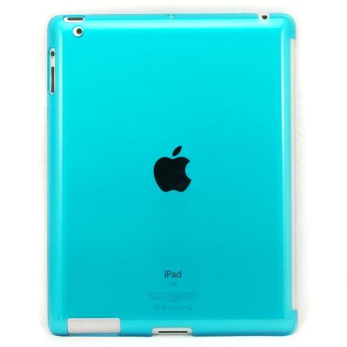 Hard Case Rückseite Schutzhülle Rückenschutz Hülle für Apple iPad 2 Ipad2 Blau