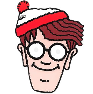 Where Is Waldo Costume Mask