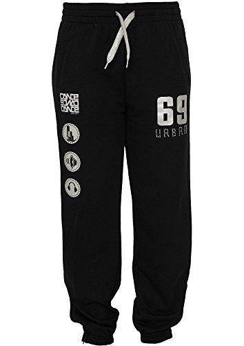 Urban Classics Dance Jogging Pant, Farbe:blk/silver;Größe:L