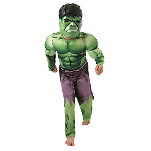 Marvel Hulk (deluxe) - Kids Costume 5 - 6 Years Picture