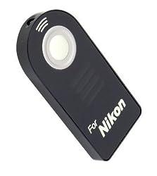 ML-L3 Infra Red Wireless Remote Control Compatible with Nikon D5100, D7000, D3000, D5000, D90, D80, D70S, D70, D50, D60, D40, D40X, 8400, 8800 & many more